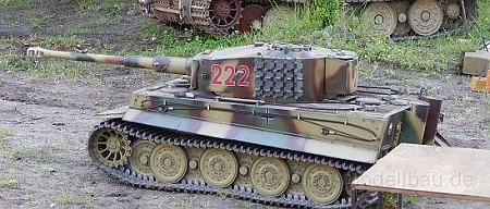 Tiger 1:6 Armortek